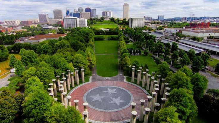 BICENTENNIAL MALL STATE PARK.....200 ft granite map of TN..... Rivers of TN Fountains.....Looks like a fun photo-op