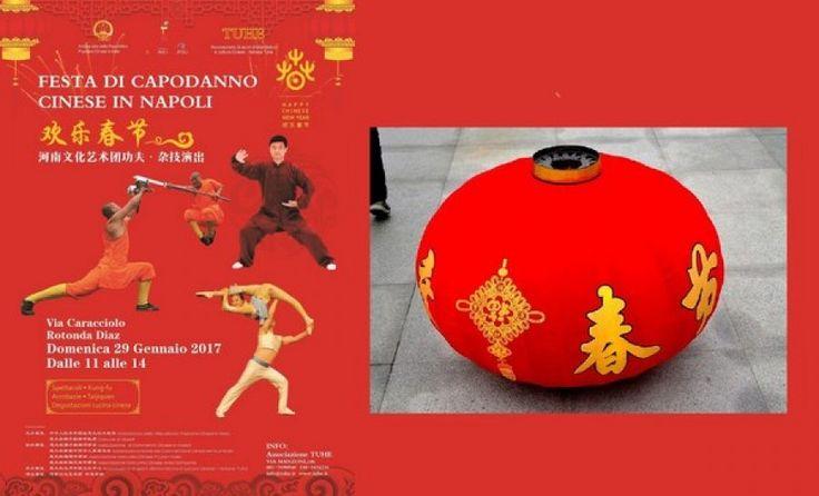 Festa del Capodanno cinese a Napoli