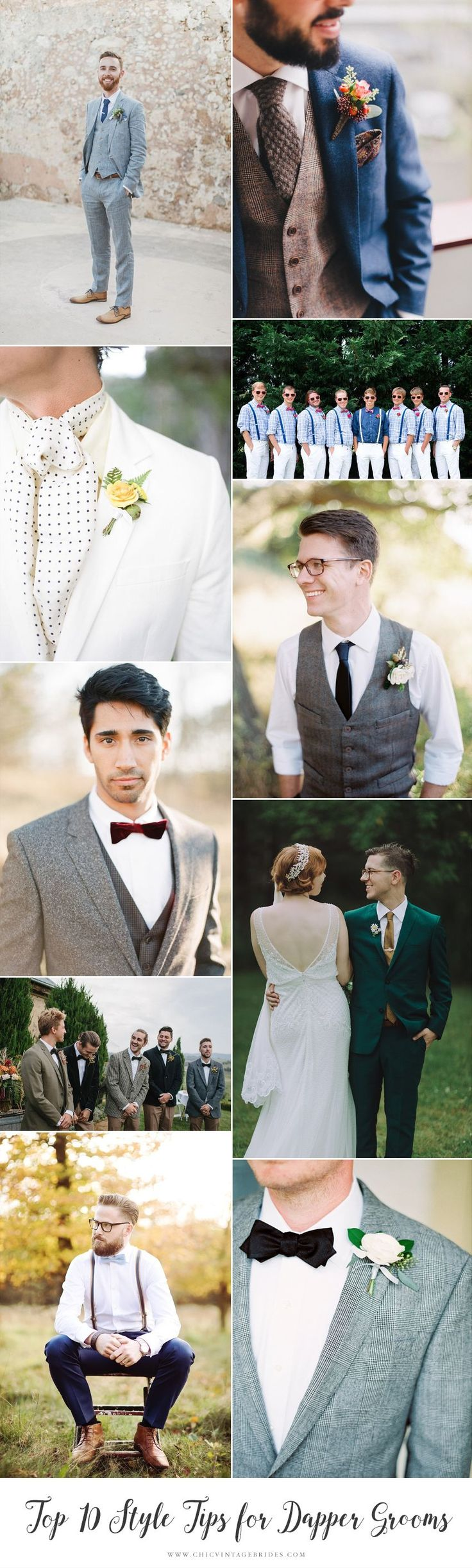 Top 10 Style Tips For Dapper Grooms