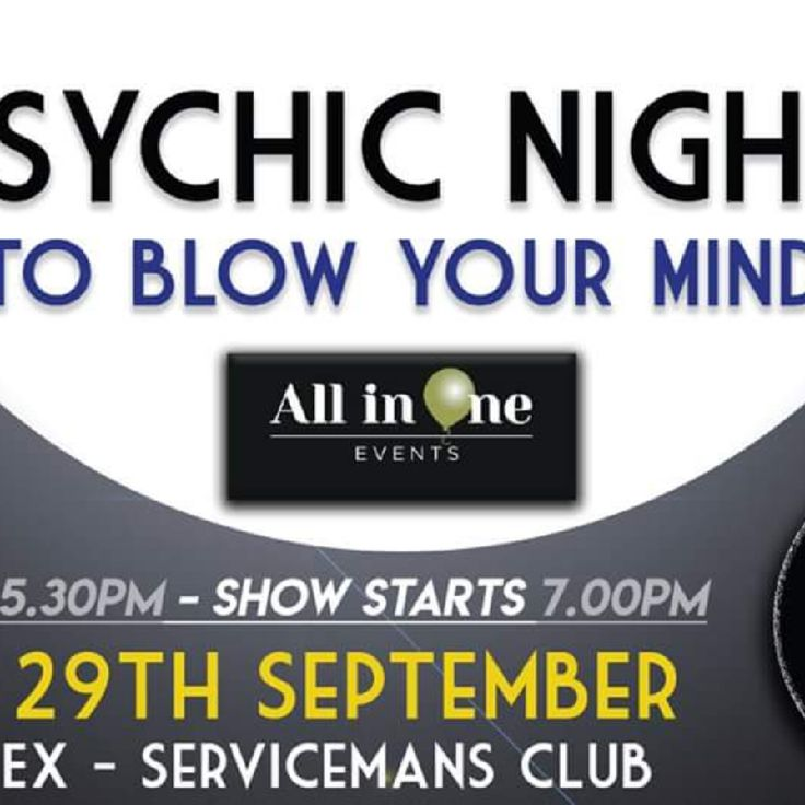 Psychic Night - Crossways, Staines Road West TW16 7BG Sunbury-on-Thames