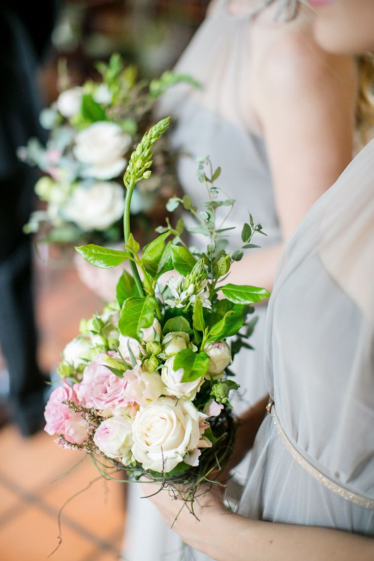 Beautiful bridesmaid bouquets made by Eve Poplett. Photography by Tyme Photography
