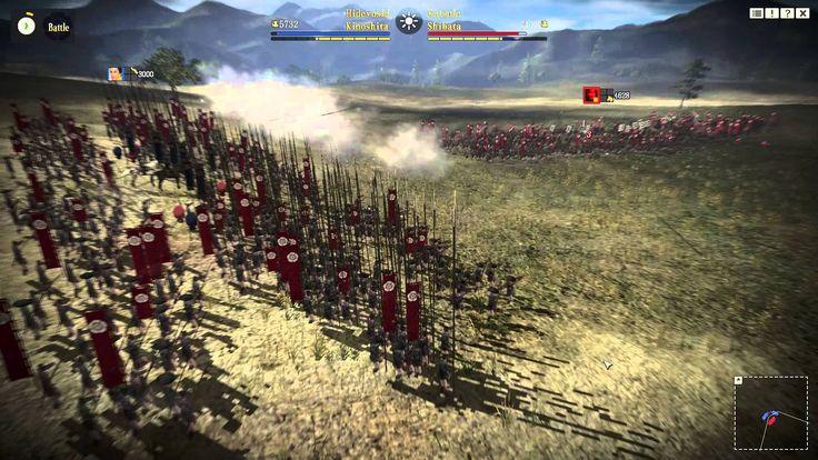 NOBUNAGA'S AMBITION: Sphere of Influence Gameplay
