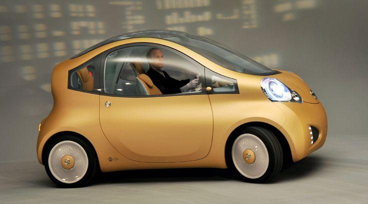 Metxtli's Blog: Electric Cars / Carros Eléctricos. Imagen: Nissan Nuvu