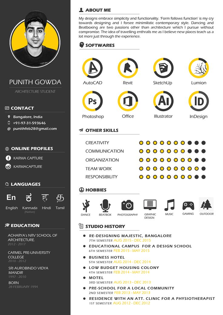 19 best portfolio images on Pinterest Resume design, Design - bachelor degree resume