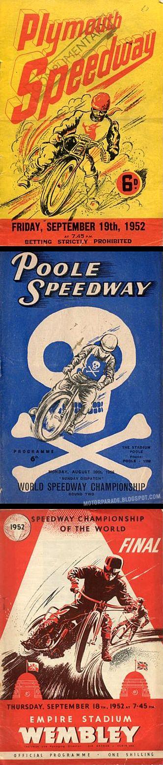 Vintage motorcycle posters