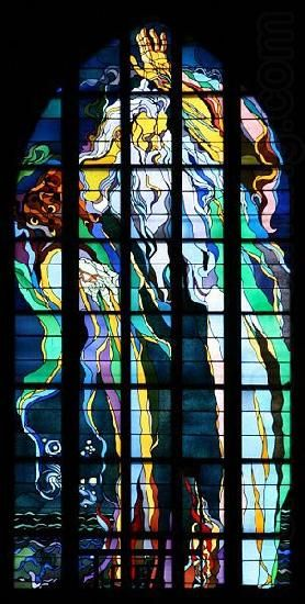 Stanislaw Wyspianski Stained glass window in Franciscan Church