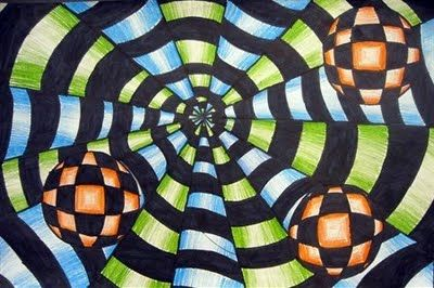 Very cool Op Art project