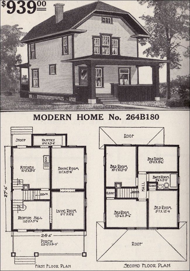 339 Best Vintage Home Plans Images On Pinterest Vintage House Plans Vintage Houses And