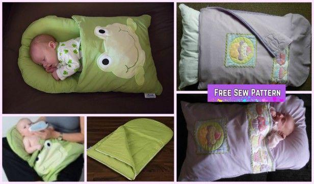 Diy Baby Pillowcase Sleeping Bag Nap Mat Tutorials Diy Baby Pillowcase Sleeping Bag Nap In 2020 Baby Pillow Case Pillowcase Sleeping Bag Baby Pillow Case Sleeping Bag