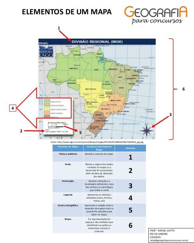 Elemento Do Mapa Funcao Do Elemento Do Mapa Exemplo Titulo E
