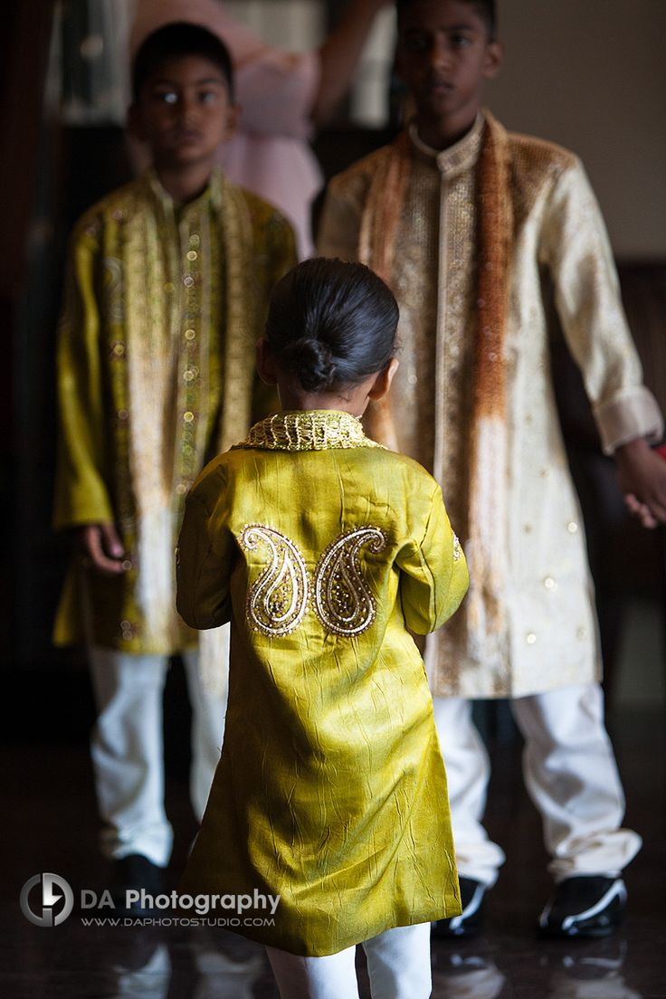 Ring Bearer at Traditional Muslim Indian Wedding Ceremony - DA Photography