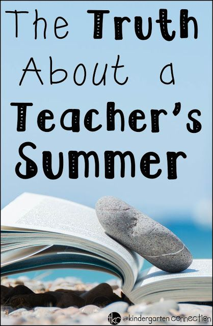 What do teachers really do in the summer?