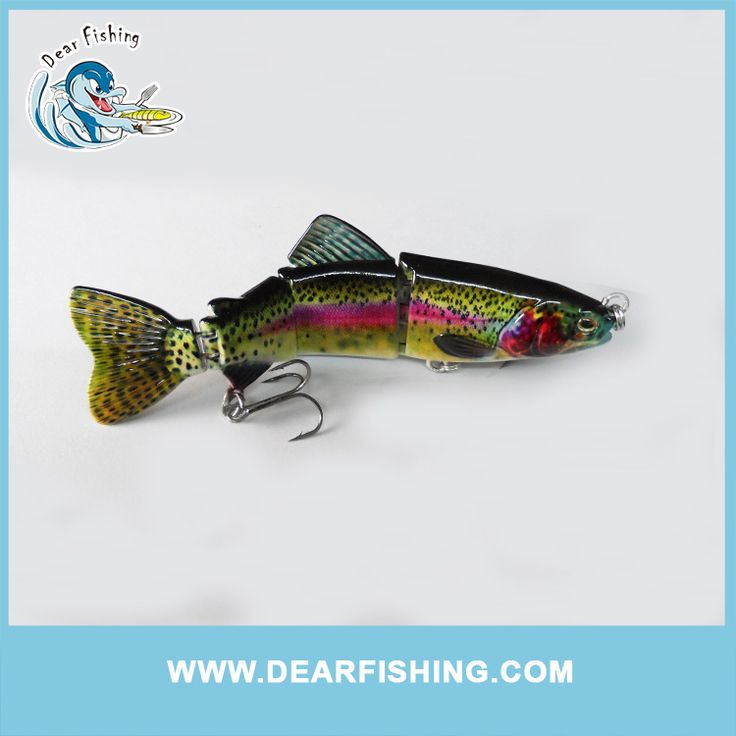 "6.5"" 95g 4 section lure trout swimbait .  More information please visit :http://www.alibaba.com/product-detail/rubber-fishing-lure-hard-plastic-trout_60484788706.html"