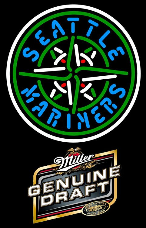 Genuine Draft Seattle Mariners MLB Neon Sign 3 0007, Miller MGD with MLB Neon Signs | Beer with Sports Signs. Makes a great gift. High impact, eye catching, real glass tube neon sign. In stock. Ships in 5 days or less. Brand New Indoor Neon Sign. Neon Tube thickness is 9MM. All Neon Signs have 1 year warranty and 0% breakage guarantee.