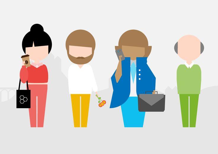 Zo laat je zien hoe Limburgers het liefst wonen #interactive #infographic #animation #characterdesign #flatdesign #studiolakmoes