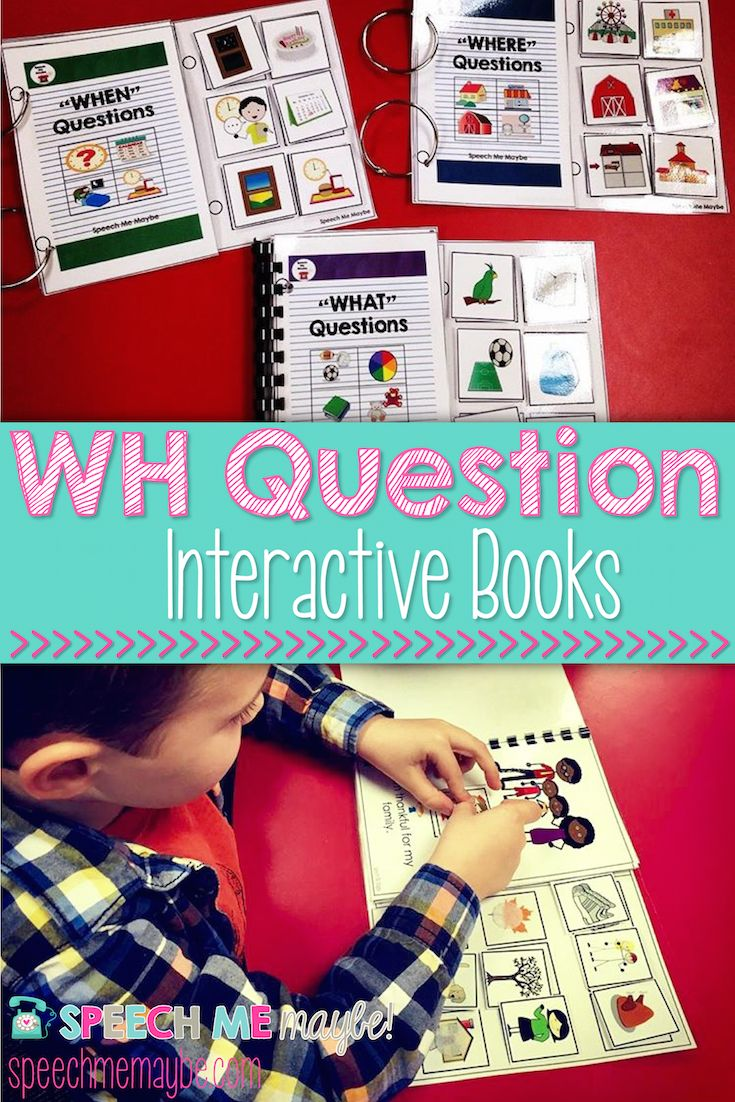 A lot of the kiddos on my caseload have difficulty answering WH questions. Specifically, they have a hard time distinguishing which WH question I am asking. I have created a WHO, WHAT, WHEN, & WHERE interactive adapted book bundle to help with those needs.  Included:  -A visual poster for answering who, what, when, and where questions. -WHO Interactive book -WHAT Interactive book -WHEN Interactive book -WHERE Interactive book
