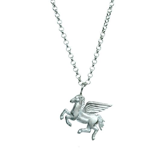 Pegasus - sterling silver pendant   my-precious.com