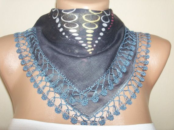 Blue White  Gorgeous Turkish Traditional by colourfulrose on Etsy, $32.50