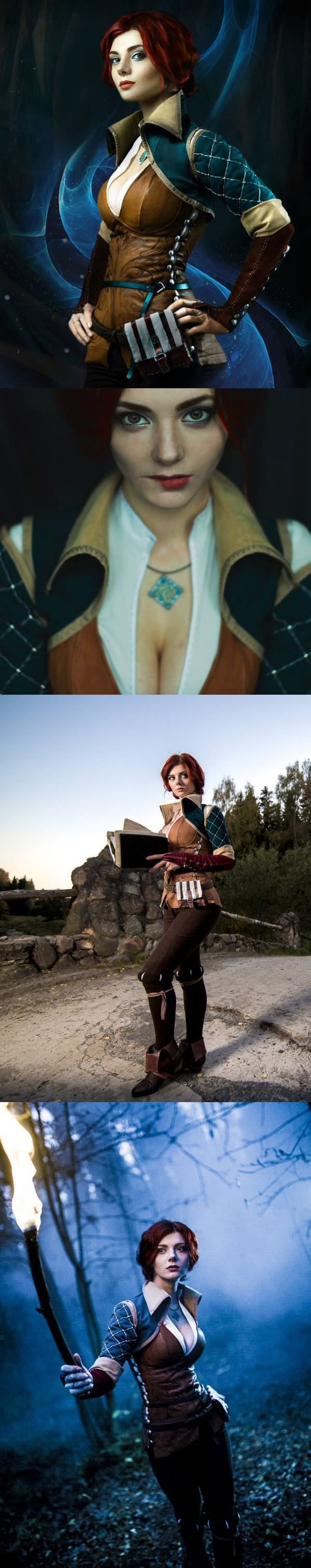 Xenia as Triss Merigold from The Witcher