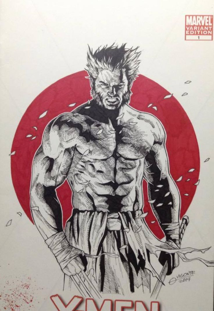 Logan - Wolverine by Geebo Vigonte *