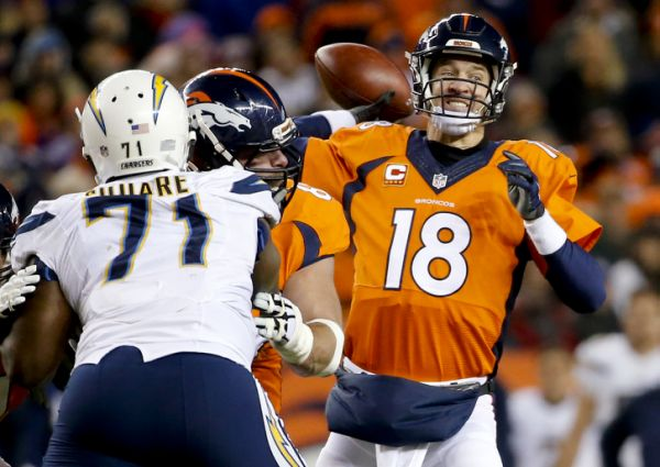 Manning leads Broncos past Chargers 27-20 - Yahoo Sports
