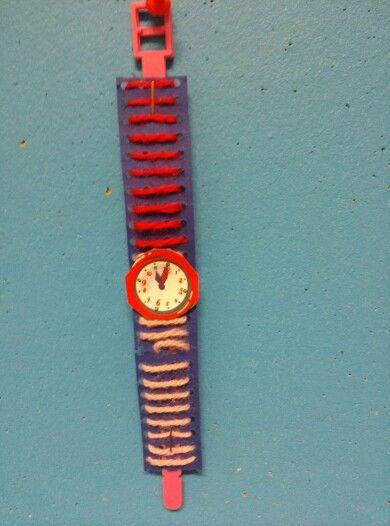Horloge borduren