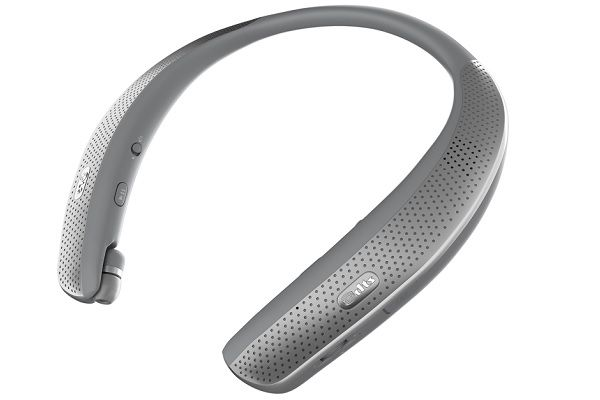 The LG TONE Studio Is Your Personal Surround Sound On The Go - http://www.gadget.com/2017/03/lg-tone-studio-personal-surround-sound-go/ bluetooth speaker, LG TONE Studio, wearable speaker
