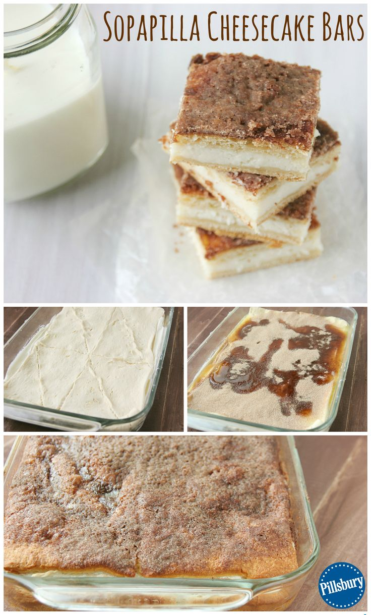 Add a new dessert into your arsenal with these Sopapilla Cheesecake Bars! It's light, flaky dough along with cinnamon and sugar are sure to make your family and friends rave.