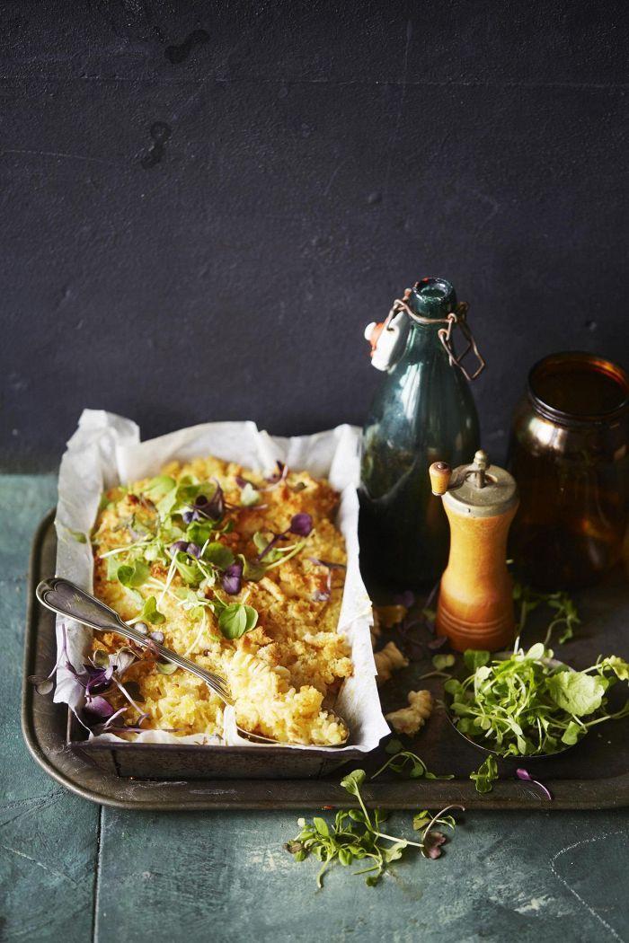 Mac and cheese eli juustomakaroni | Kasvisruuat | HS - tee kastikkeesta löysempää - pinnalle riittää pienempi määrä aineita