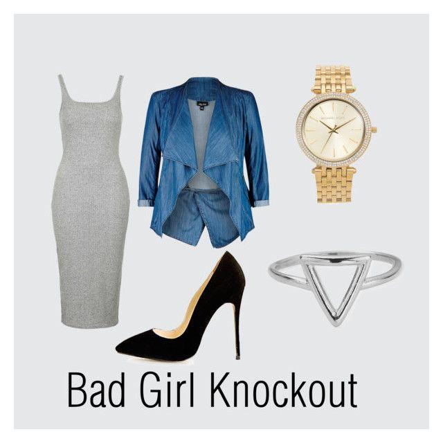 """""""Bad Girl Knockout"""" by zaraudu on Polyvore"""