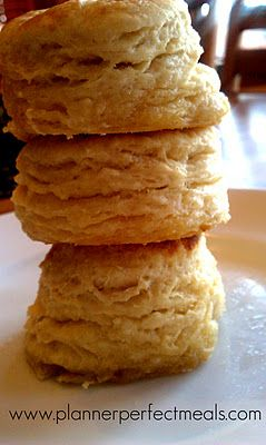 Though I do have a mighty fine biscuit recipe, I do not get layers ...