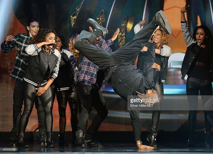 Host Anthony Anderson performs onstage at the Soul Train Awards 2013 at the Orleans Arena on November 8, 2013 in Las Vegas, Nevada.