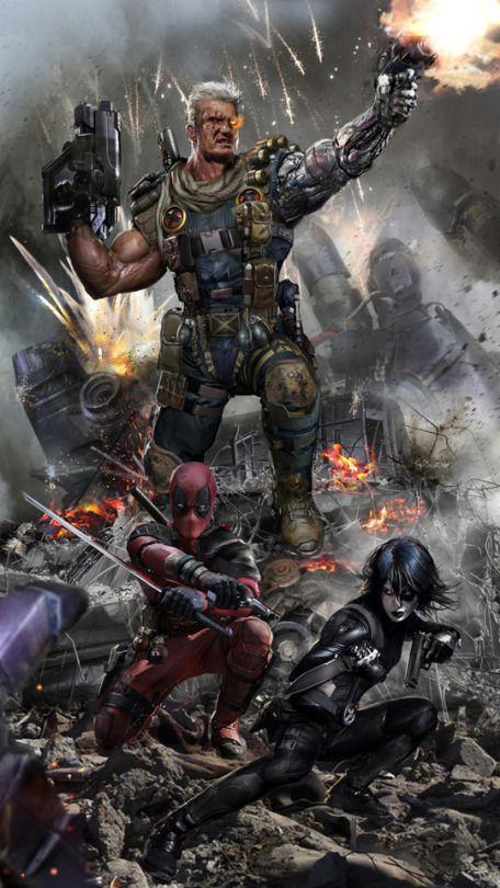 Cable, Deadpool & Domino