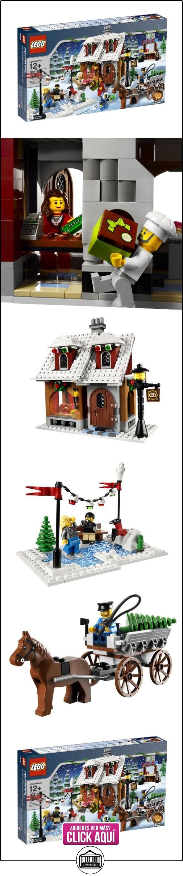 LEGO Creator 10216 - La Pastelería del Pueblo en Navidad  ✿ Lego - el surtido más amplio ✿ ▬► Ver oferta: http://comprar.io/goto/B003Q6BQPS