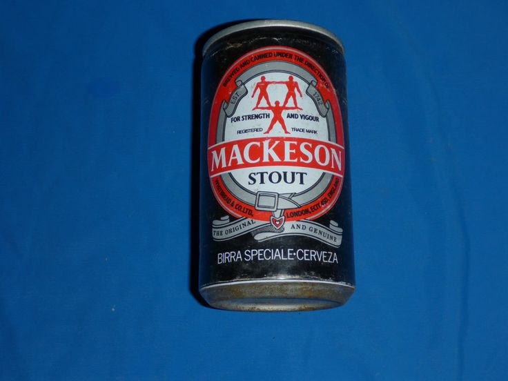 Mackeson Stout Vintage Beer Can Whitbread & Co England Ale Lager Pilsener