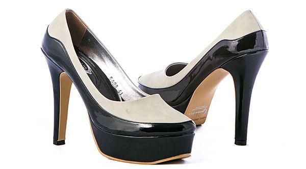 Sepatu High Heels Wanita formal/Sepatu Pantofel-Kerja-Terbaru-GS 5008