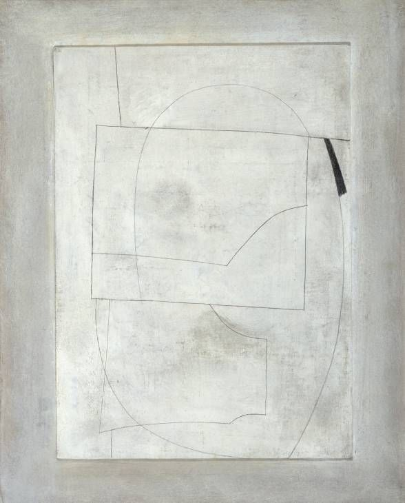 July 62 (cool moon) By Ben Nicholson