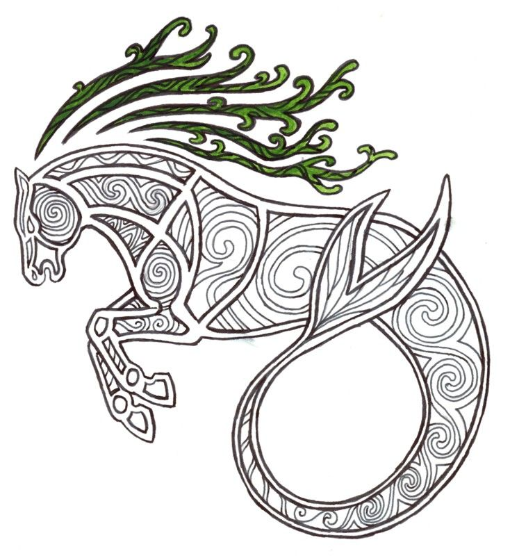 Celtic Kelpie by ~Kakaro on deviantART