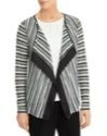 Dunnes Stores Signature Satin Detail Striped Cardigan