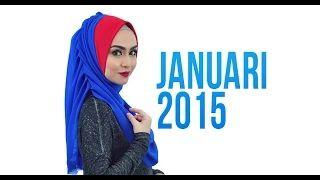 tutorial pakai instant shawl dhia by vivadea.com   Keluaran januari 2015