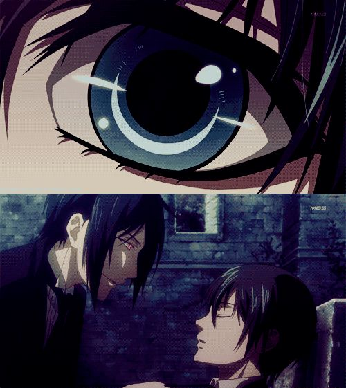 Spoiler Alert~Ciel's Soul is about to be Devoured by Sebastian after the Contract has been Fulfilled~ Kuroshitsuji Season 1 Episode 24 end