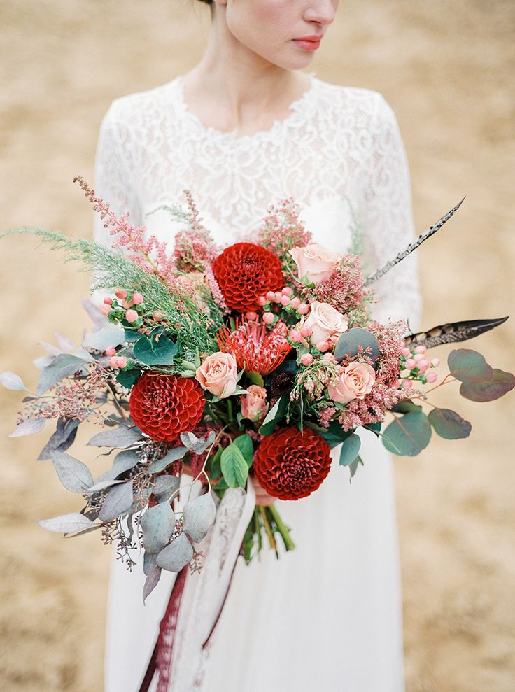 Fall wedding bouquet Ideas | Photography : thefretties.com | fabmood.com