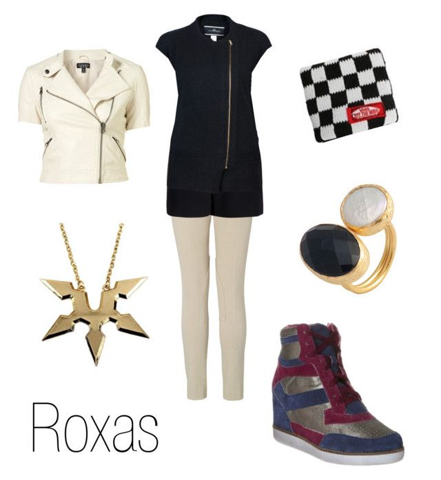 """""""Roxas"""" by ja-vy ❤ liked on Polyvore featuring Vans, L.K.Bennett, rag & bone, toosis, Jeffrey Campbell, By Malene Birger, roxas and kingdom hearts"""