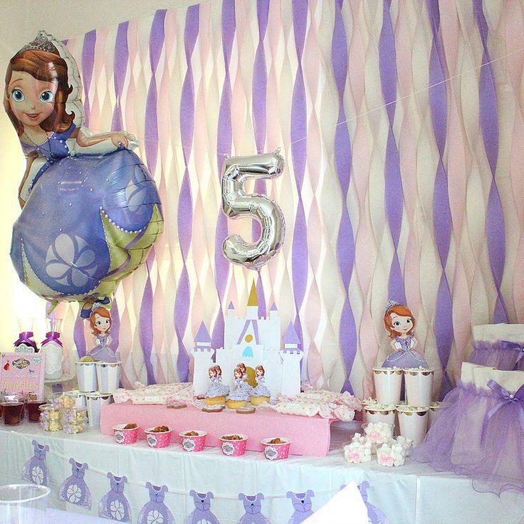 ラブリーなプリンセスソフィアのお誕生日パーティー♪ |埼玉・東京 キッズパーティープランナー Twinkle Styleのブログ