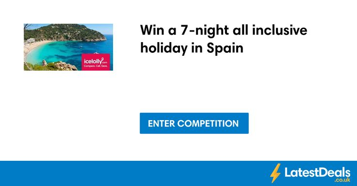 Win a 7-night all inclusive holiday in Spain at Mirror