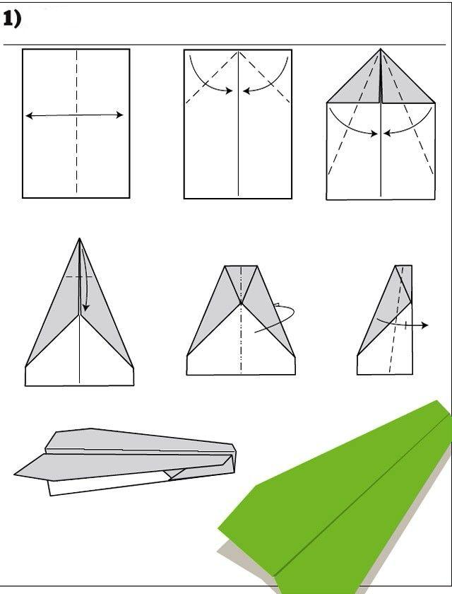 23 besten Origami Bilder auf Pinterest | Papierflieger, Blätter und ...