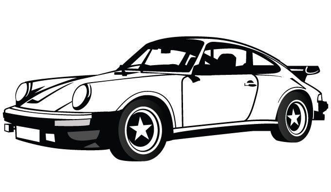 Porsche Logo Clipart Brands Vector Free Vector Free