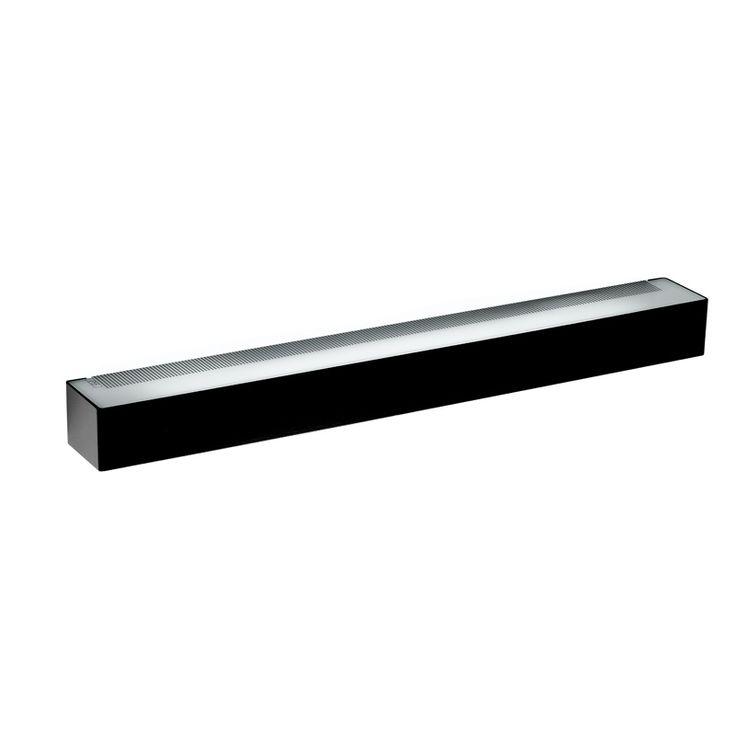 All Light Closed lys, svart - All lights closed er et multi-funksjonelt lys som ligner en metallstang for lys innendørs og en rustfri versjon til utedendørs belysning. - Flos - RoyalDesign.no 2300,-