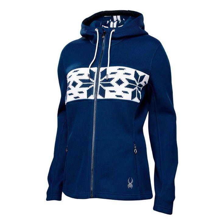 Spyder Soiree Hoody No Fur Mid Weight Core Sweater - Women's -