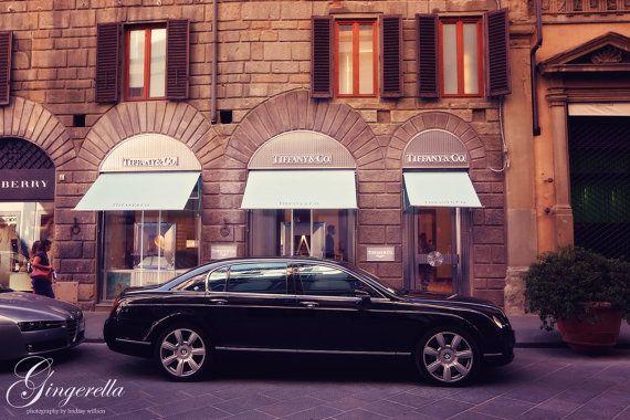 Tiffany's, Fashion, Florence, Italy, Etsy, Photography